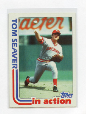 1982 Topps In Action # 31 Tom Seaver , Reds