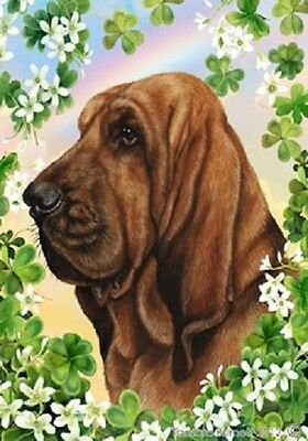 Large Indoor/Outdoor Clover Flag - Bloodhound 31073