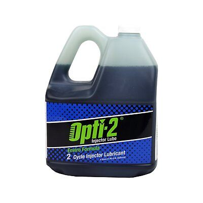 Opti-2 Smokeless 2-Cycle Injector Lubricant 4 Litre Jug Lube two-stroke Oil