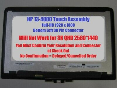 """NEW HP Spectre X360 13-4103dx 13.3"""" LED LCD TOUCH Screen Digitizer Assembly FHD"""