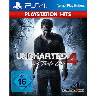 Uncharted 4 A Thiefs End Sony PS4 Spiel Playstation 4 Hits NEU&OVP