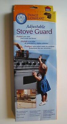 """NEW Prince Lionheart Adjustable 24"""" to 36"""" Stove Guard Protect Your Child 0089"""