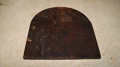 Gilbert Clock Case Back Cover Used Mantel / Shelf Clock Parts 4