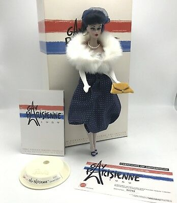 VINTAGE 1959 GAY PARISIENNE Reproduction BARBIE and Fashion Limited Edition 2002