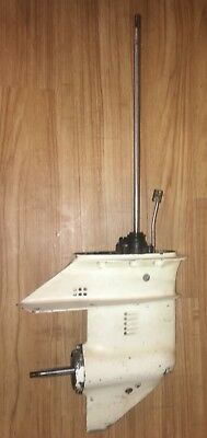 """1978-1992  9.9 15 hp OMC Johnson Evinrude Outboard Lower Unit for 15"""" transoms"""