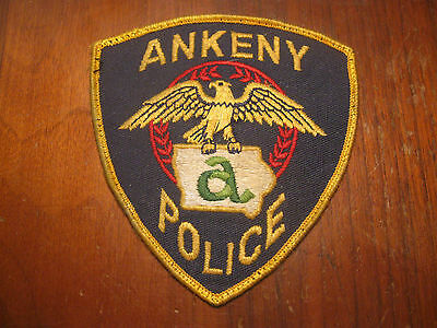 Ankeny Iowa Police Patch