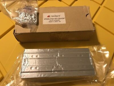 New OptoSigma IPWS-F60140 Stainless Steel Linear Slide 60x140mm Travel 40mm RoHS