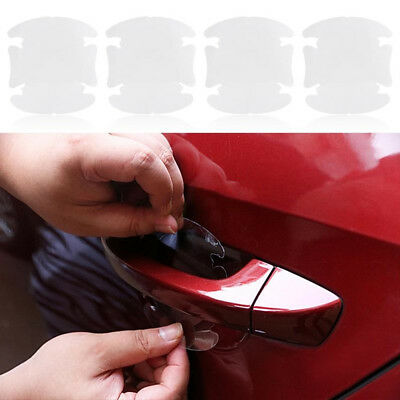 2X Auto Car Door Handle Protector SUV Invisible Anti Scratch Films Sticker Tools