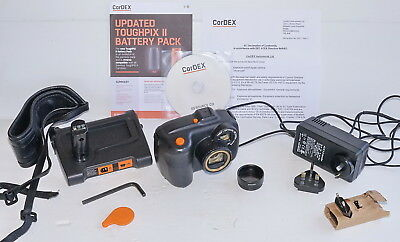 Cordex TP2410 ToughPIX II ATEX IECEx Explosion Proof Digital Camera incl Macro