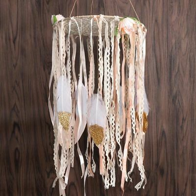 Feather Boho Life Tree Kit Dream Catcher Wedding Nursery Home Wall Hanging Decor
