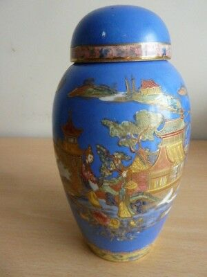 Early Carlton Ware Vase And Cover 7453 Picclick