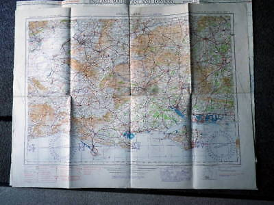 Great Britain c1934-1939 Military Maps x 10. Linen Backed, 3 x War Revision 1940