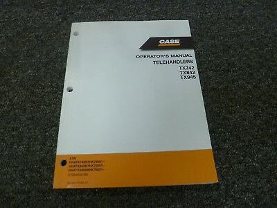 John Deere 3800 Telescopic Handler Owners Operators Manual Service Book Industrial Manuals