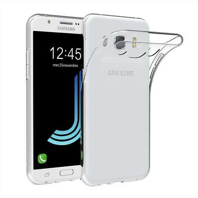 CASE SOFTCASE ULTRATHIN FOR SAMSUNG GALAXY J5 2016 J510 CLEAR FREE I RING. For Samsung Galaxy J5 2016 Clear Slim Gel Case Silicone TPU Back Cover J510FN