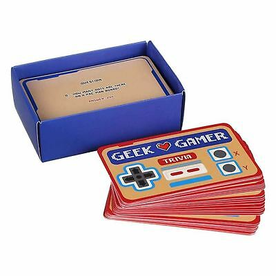 Gift Republic Geek Gamer Trivia 100 Questions For Nostalgic Gaming Lovers Geeks