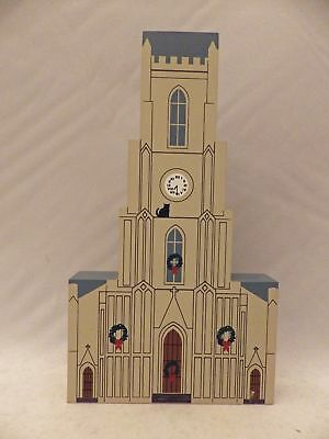 Cat's Meow Village - St. Patrick's Church - New Orleans Christmas Series - #9942