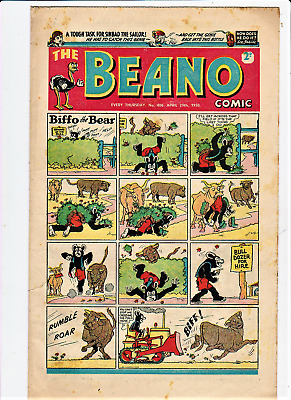 BEANO # 406 April 29th 1950 issue comic The early Sinbad