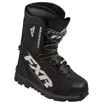 FXR™ Backshift Core Black Men's/Women's Snowmobile Boots, 170704-1000-XX