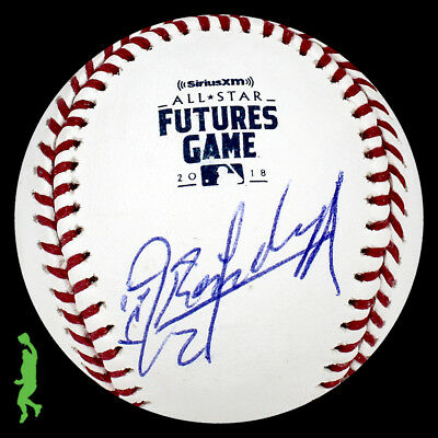 Randy Arozarena Autograph Signed 2018 Futures Baseball Ball Cardinals Jsa Coa
