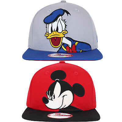 New Era 9FIFTY Disney Mickey Mouse Donald Snapback Baseball Cap