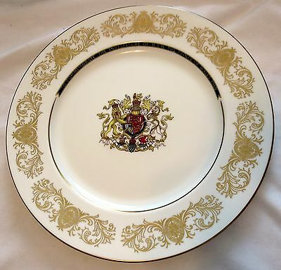 1969 Aynsley Commemorate The Investiture of HRH Prince Charles of Wales Plate