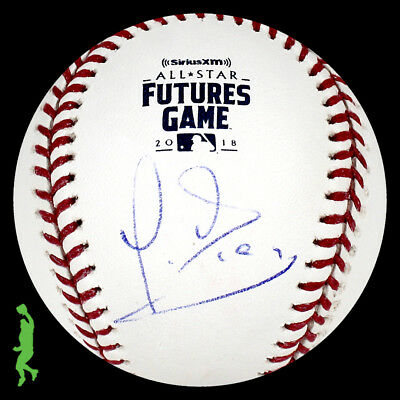 Yusniel Diaz Autographed Signed 2018 Futures Game Baseball Ball Orioles Jsa Coa
