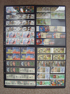 LOT#347r GB QEII COMMEMORATIVE STAMPS (Multiple Listing) ISSUED 1981-1992 USED