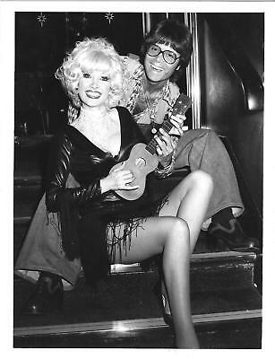 * Vintage Publicity Photo * Cliff Richard & Jacqueline Jones * Perform * 1975