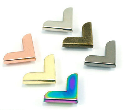 "Emmaline Bags Metal corners 20mm/ 3/4"" - range of finishes - for bags & crafts"