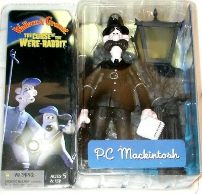 Wallace and Gromit The Curse of the Were-Rabbit P.C. MacKintosh Action Figure
