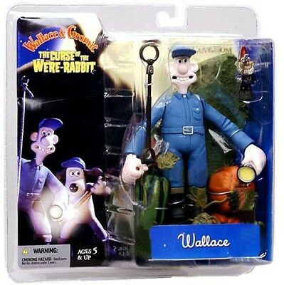 The Curse of the Were-Rabbit Wallace Action Figure [With Flashlight]