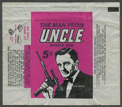 1965 Topps The Man From U.N.C.L.E. UNCLE Wrapper