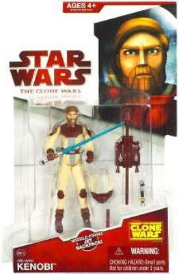 Star Wars Clone Wars 2009 Obi-Wan Kenobi Action Figure CW12 [Space Suit]