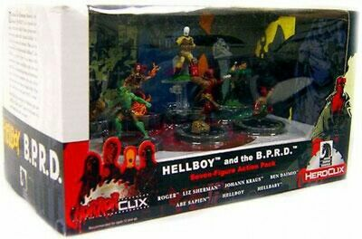 HorrorClix Hellboy and the B.P.R.D. Collector's Set