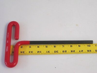 "New EKLIND 51924 T-Handle Hex Key 3/8"" Tip x 10-1/2"" Long Cushion Grip USA Made"