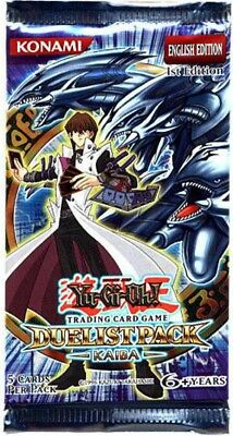Duelist Pack Kaiba UNL Edition New And Sealed Booster Pack x1 Yu-Gi-Oh! YuGiOh Verzamelingen