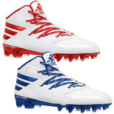 New Adidas Freak X Carbon Mid Mens Football Cleats - White Red Blue (Pick  Color) MANY SIZES IN STOCK --- SAME DAY SHIPPING 19cb1f462c8