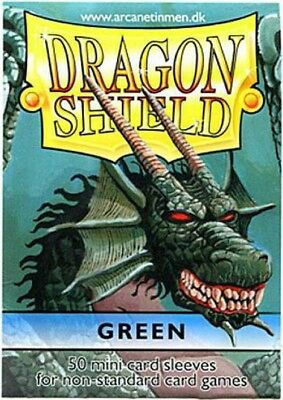Card Supplies Dragon Shield Green Small Card Sleeves [50 Count]
