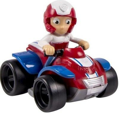 Paw Patrol Rescue Racer Ryder in ATV Figure [Figure Does Not Come Out!]
