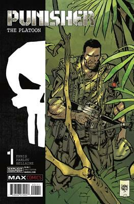 Punisher: The Platoon #1A, NM 9.4, 1st Print, 2017 Flat Rate Shipping-Use Cart