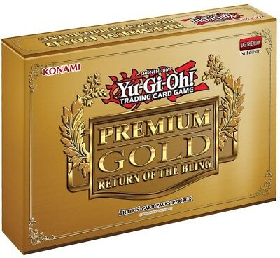 YuGiOh Premium Gold: Return of the Bling Mini Box [3 Booster Packs]