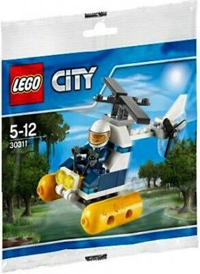 2 New Lego City 30311 Swamp Police Helicopter Polybag 51pcs each  Free S/&H//US