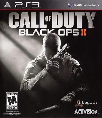 Call Of Duty Black Ops 2 II Playstation 3 PS3 Game