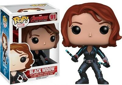 Avengers Age of Ultron Funko POP! Marvel Black Widow Vinyl Figure #91