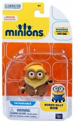 Despicable Me Minions Movie Bored Silly Bob Action FIgure