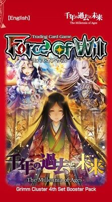 Force of Will Grimm Cluster The Millennia of Ages Booster Pack