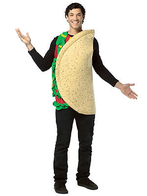 Taco Munchies Mexico Food Funny Party Dress Up Womens Mens Costume