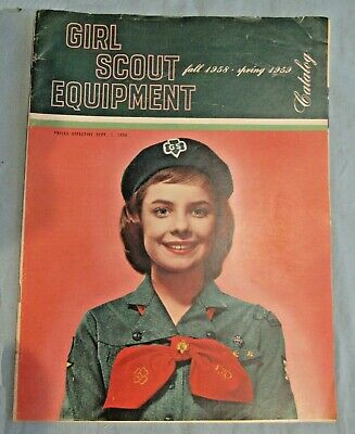 1958 /59 CATALOG EUC Girl Scout Uniforms Equipment Jewelry Dolls COLLECTOR GIFT