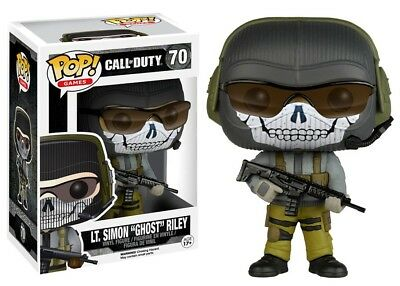 Call of Duty Funko POP! Games LT. Simon Ghost Riley Vinyl Figure #70