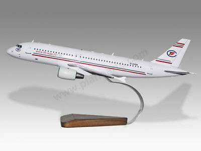 Collectables Transportation Collectables Airbus A320 Jetstar Titans Solid Kiln Dried Mahogany Wood Handmade Desktop Model